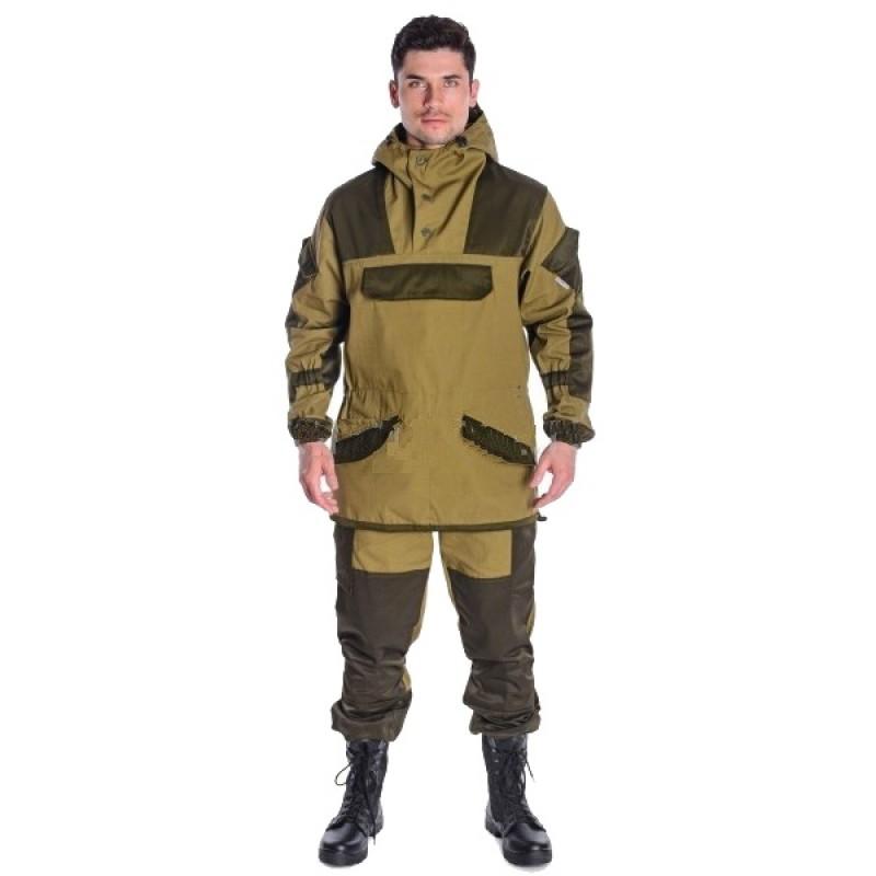Летний костюм ONERUS Горный анорак (Палатка, темный Хаки) (фото 2)