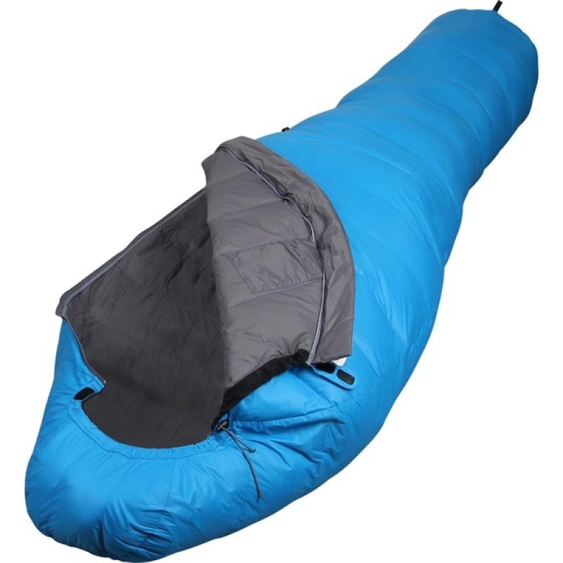 Спальный мешок СПЛАВ Adventure Light 220 (голубой, пуховый)