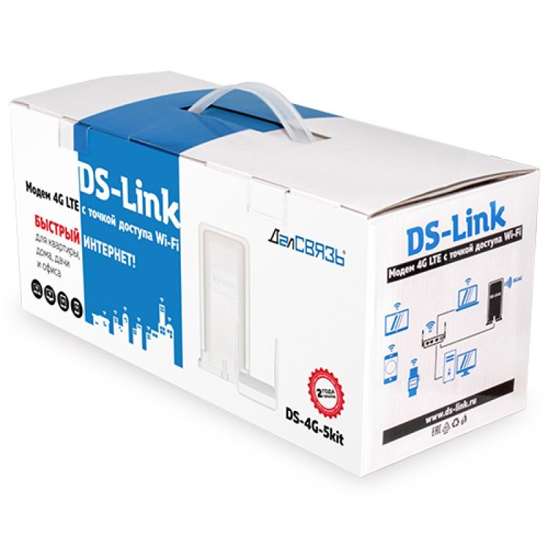 Уличный модем ДалСвязь DS-4G-5kit (LAN, Wi-Fi, кабель PoE 20м.) (+ Кронштейн в подарок!) (фото 4)
