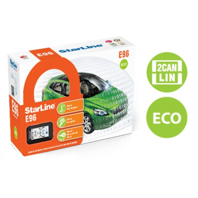 Автомобильная сигнализация StarLine E96 2CAN+2LIN ECO