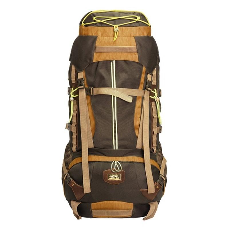 Рюкзак Aquatic Р-75+10ТК (трекинговый, темно-коричневый)