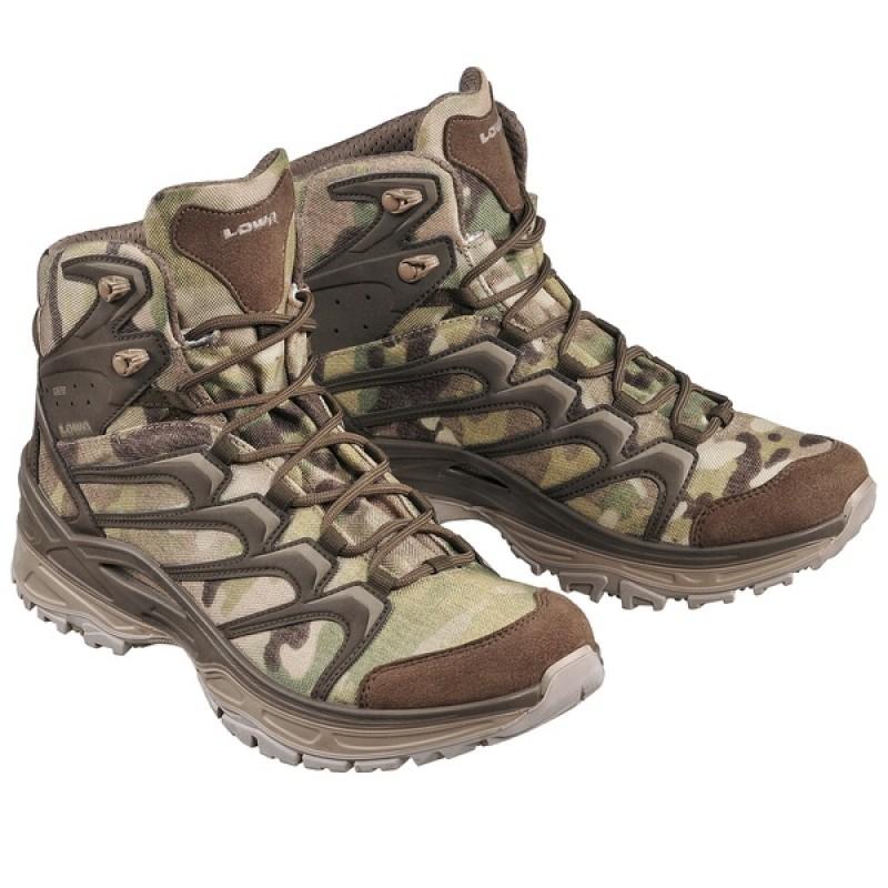 Тактические облегченные ботинки LOWA INNOX MID TF GTX Multicam