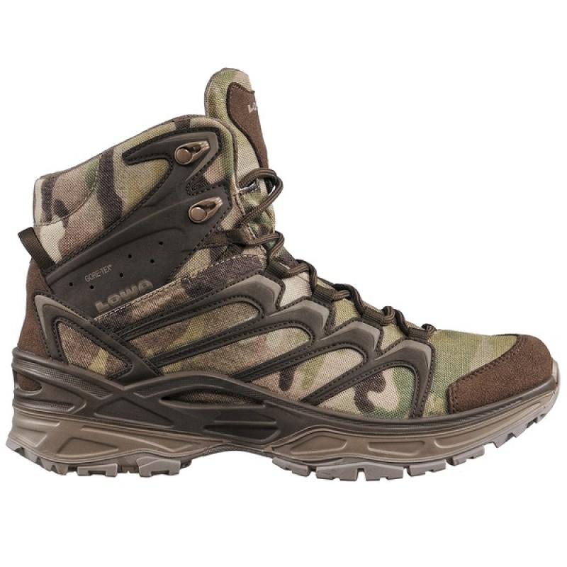 Тактические облегченные ботинки LOWA INNOX MID TF GTX Multicam (фото 2)