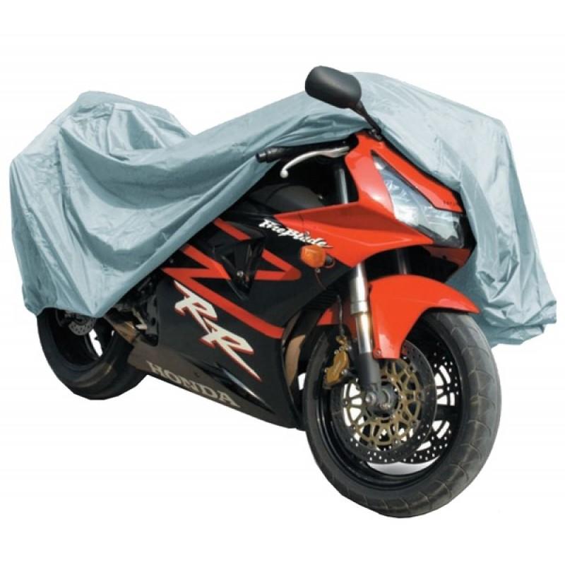 Защитный чехол-тент на мотоцикл AVS МС-520 L 229х99х125см  (водонепроницаемый) (фото 2)
