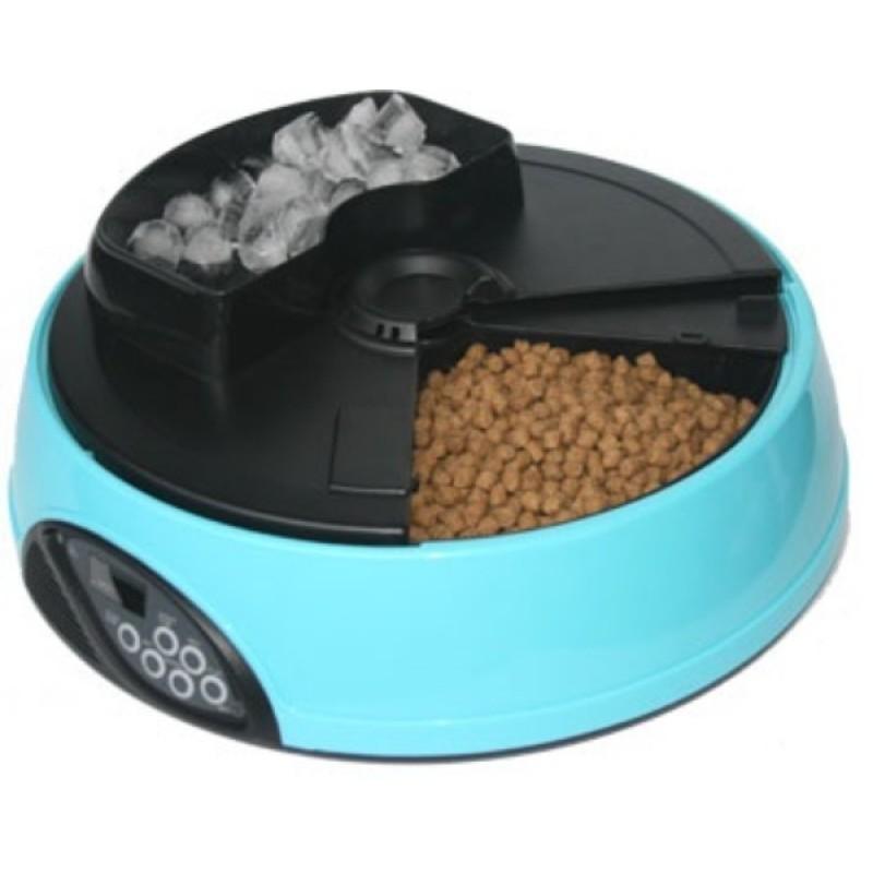 Автокормушка для собак и кошек Feed-Ex PF1B Голубая (57046)