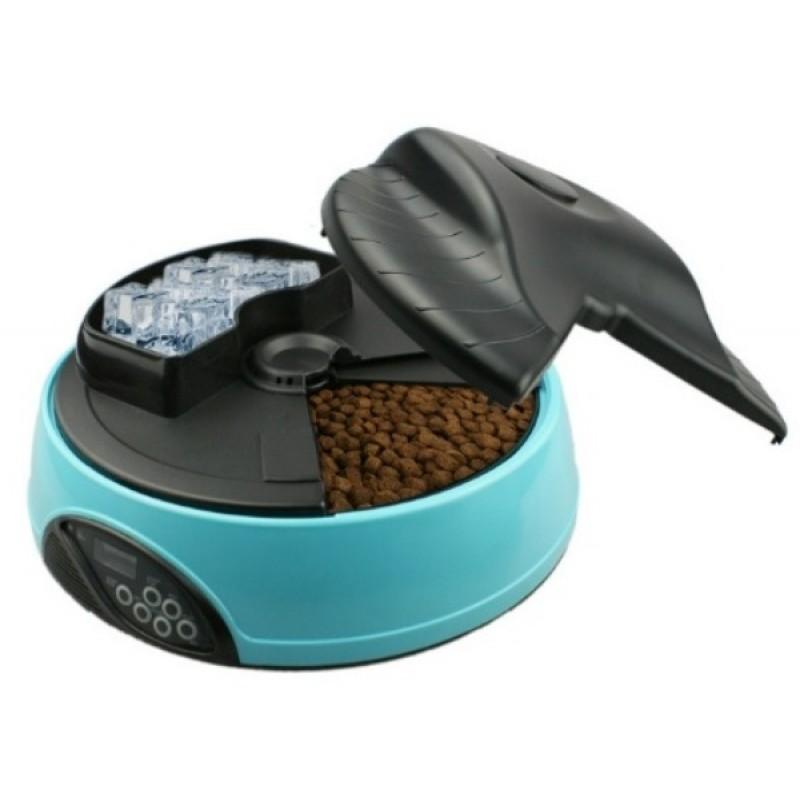 Автокормушка для собак и кошек Feed-Ex PF1B Голубая (57046) (фото 3)