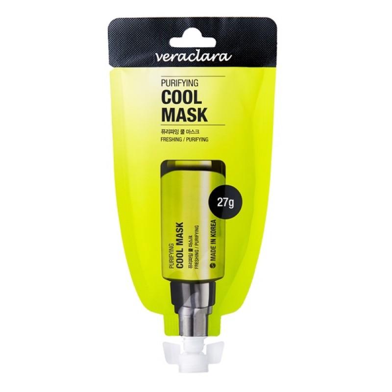 Маска для лица охлаждающая очищающая Veraclara PURIFYING COOL MASK