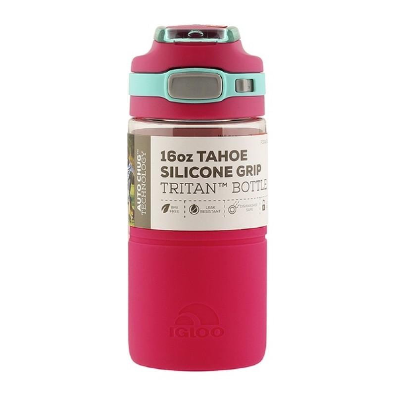 Пластиковая бутылка для воды IGLOO TAHOE Silicone 16 OZ/PNK