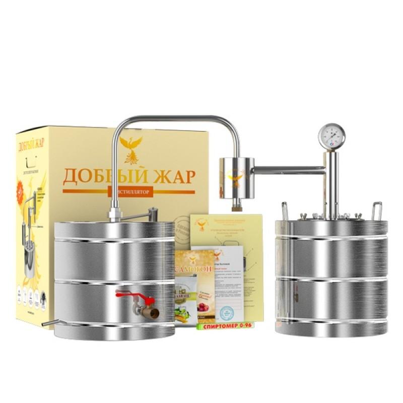 Самогонный аппарат (дистиллятор) Добрый жар ДАЧНЫЙ 30 литров (фото 3)