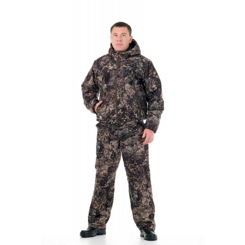 Демисезонный костюм для охоты Сапсан -15° С (Алова, ельник) PRIDE Полукомбинезон