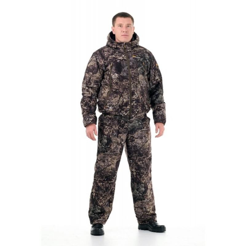 Демисезонный костюм для охоты Сапсан -15° С (Алова, ельник) PRIDE Полукомбинезон (фото 2)