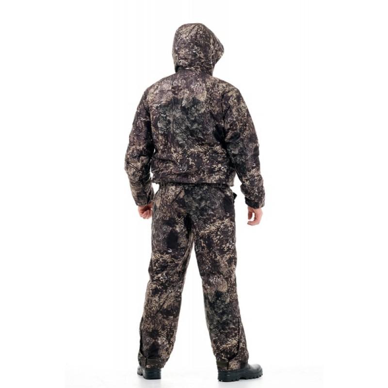 Демисезонный костюм для охоты Сапсан -15° С (Алова, ельник) PRIDE Полукомбинезон (фото 3)