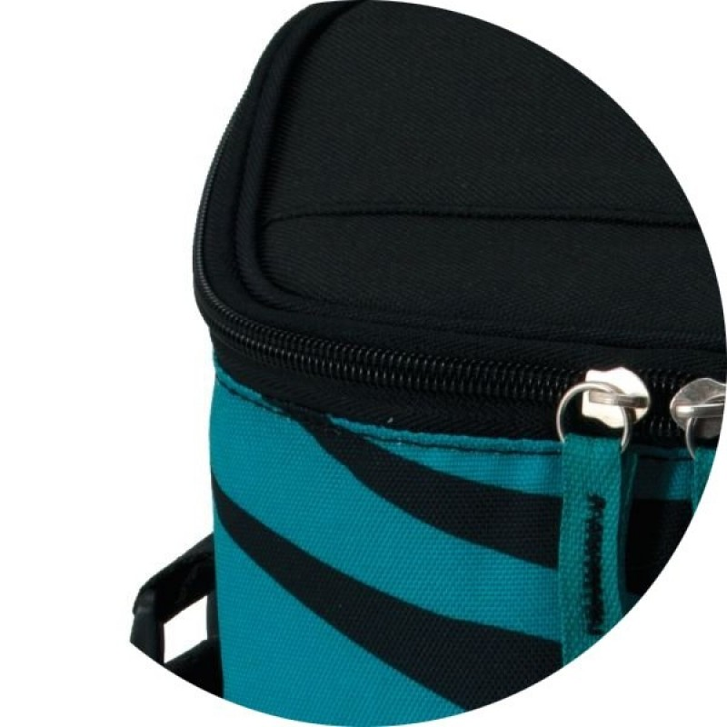 Сумка-термос Igloo 2 Bottle Wine Tote 16 teal-zebra (фото 2)