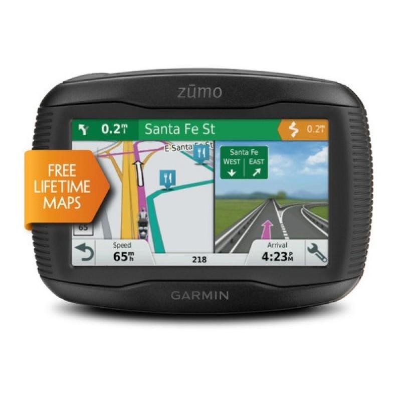 Мото навигатор Garmin Zumo 395