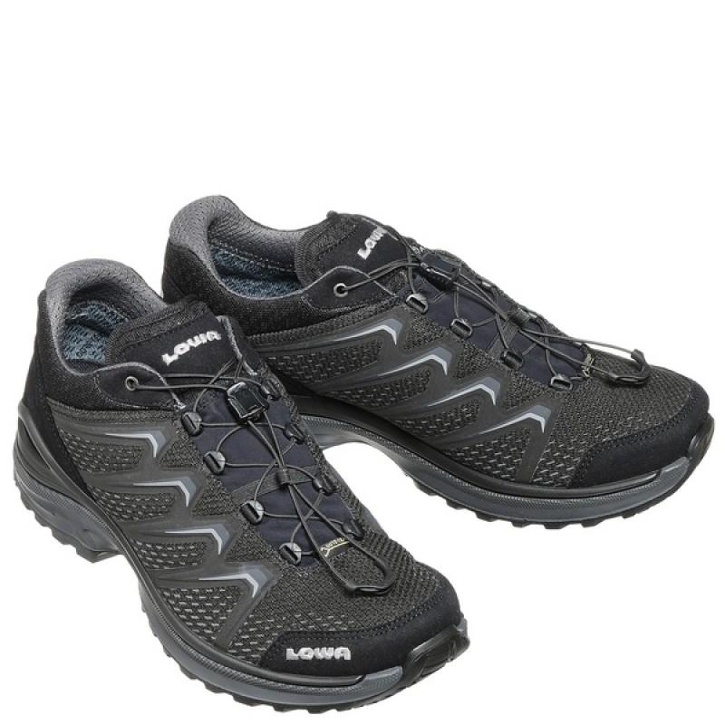Тактические ботинки LOWA MADDOX GTX LO TF Black