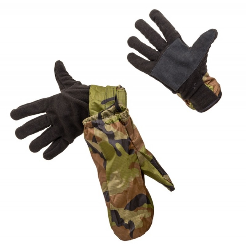Перчатки Рукавичка (Флис, зеленый) Holster (370377532)