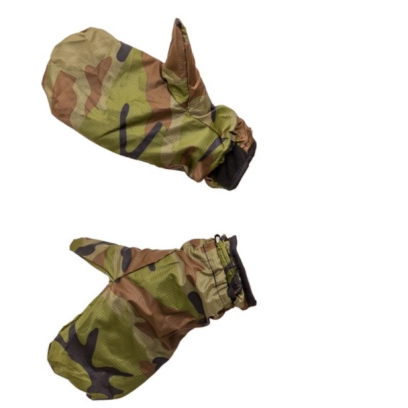 Перчатки Рукавичка (Флис, зеленый) Holster (370377532) (фото 3)