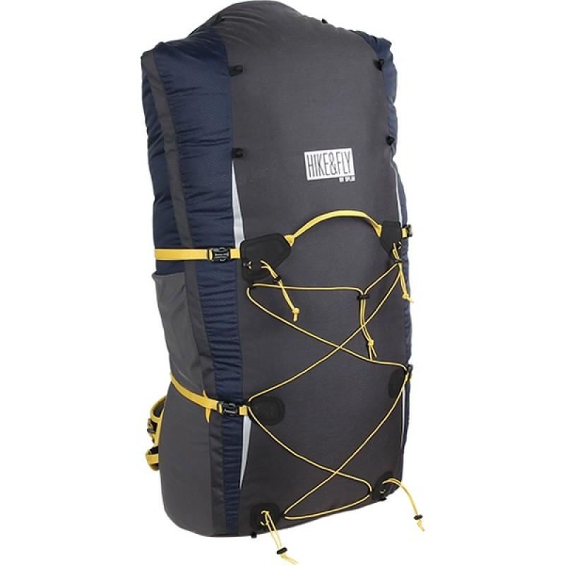 Туристический рюкзак СПЛАВ HIKE & FLY 80 (т. синий)