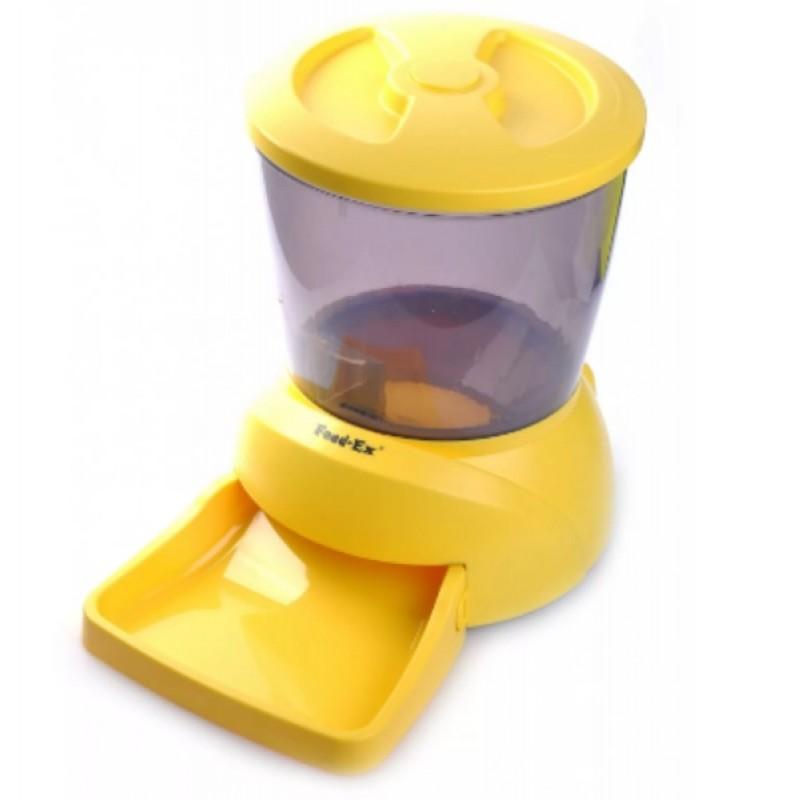 Автокормушка для собак и кошек Feed-Ex PF7Y Желтая (61667)