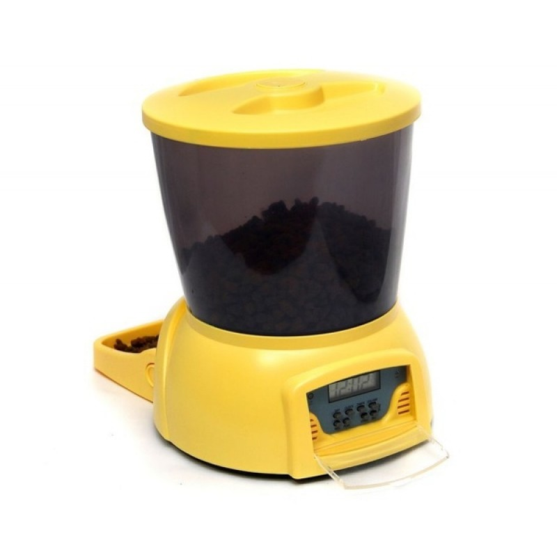 Автокормушка для собак и кошек Feed-Ex PF7Y Желтая (61667) (фото 2)