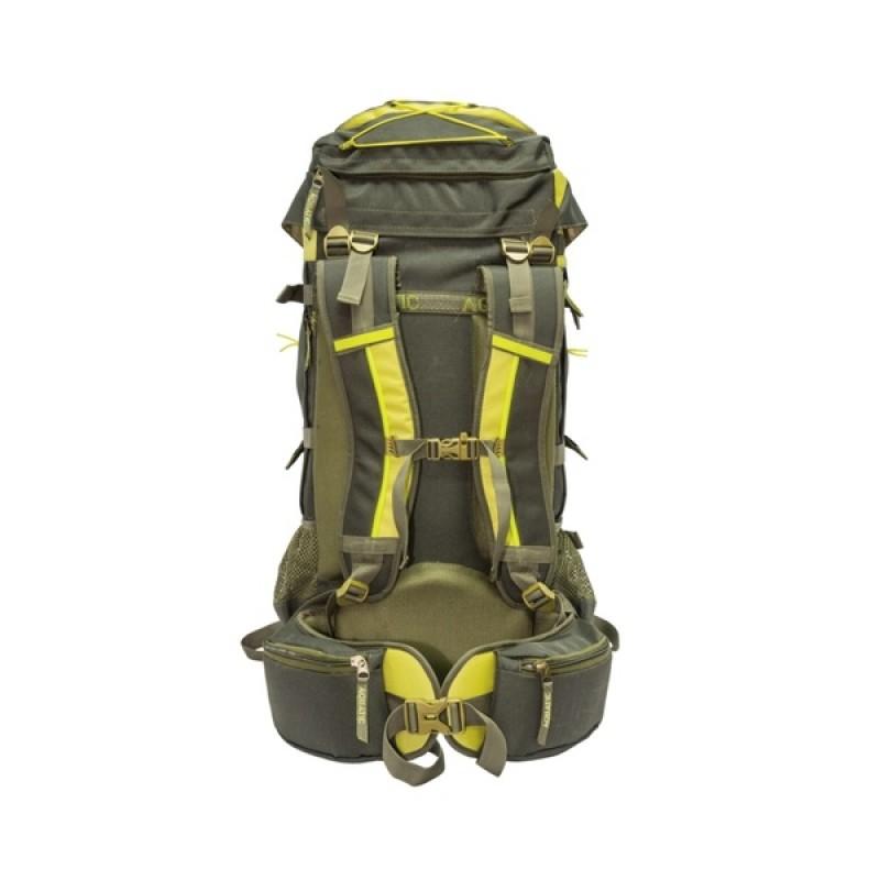 Рюкзак Aquatic Р-55+10Х (трекинговый, цвет: хаки) (фото 2)
