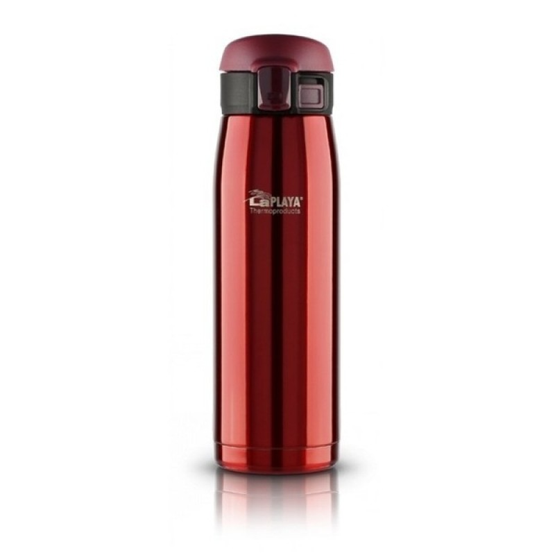 Термокружка LaPlaya Travel Tumbler Bubble Safe 0.5L Red со стоппером (560065)