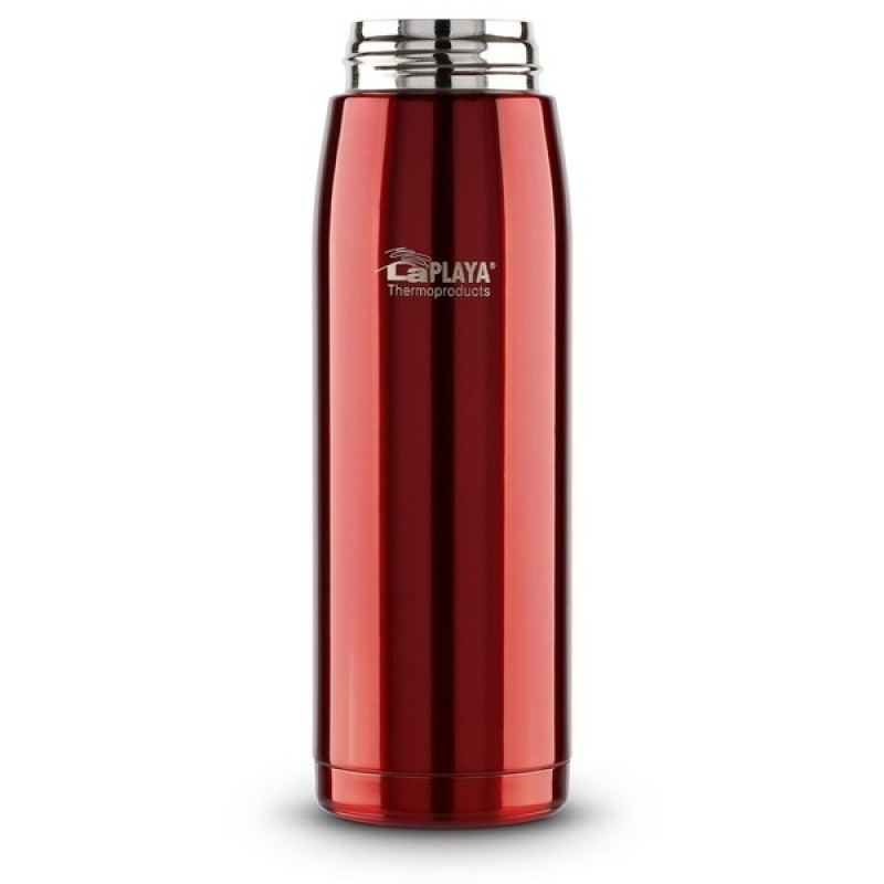 Термокружка LaPlaya Travel Tumbler Bubble Safe 0.5L Red со стоппером (560065) (фото 3)