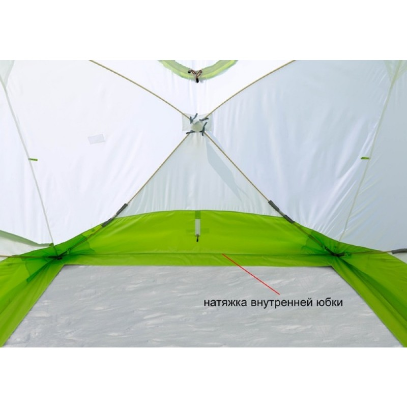 Зимняя палатка ЛОТОС Куб 4 Компакт (фото 3)