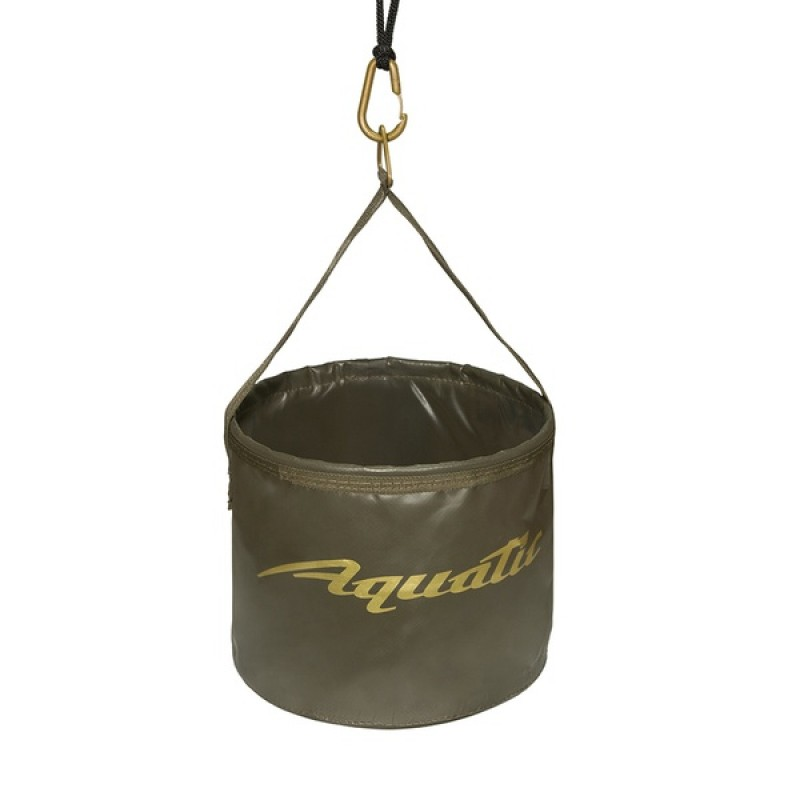 Ведро для замешивания прикормки Aquatic В-08 (герметичное, с шнуром на карабине)