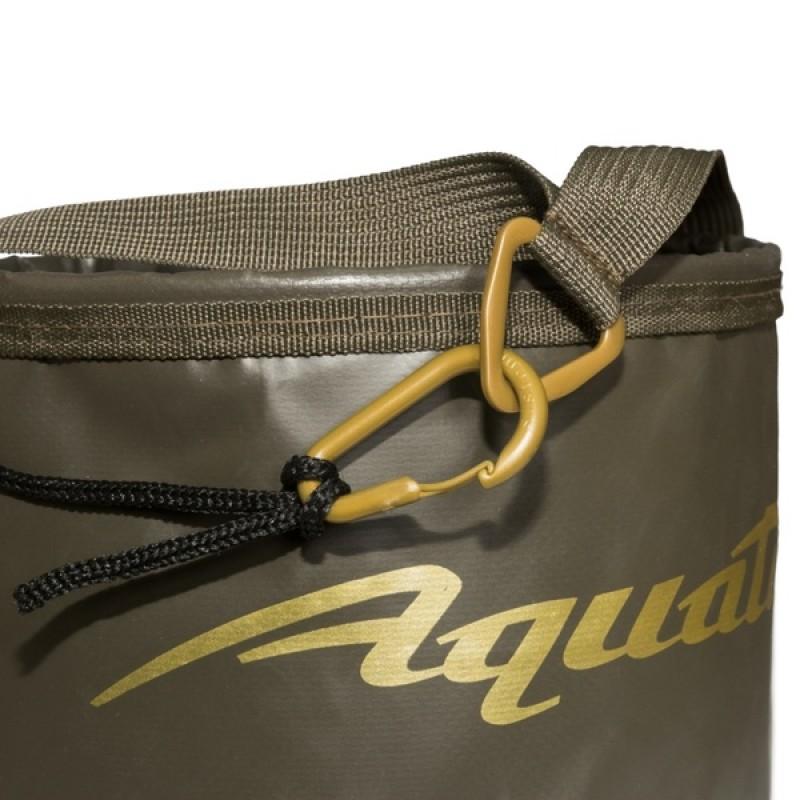 Ведро для замешивания прикормки Aquatic В-08 (герметичное, с шнуром на карабине) (фото 2)