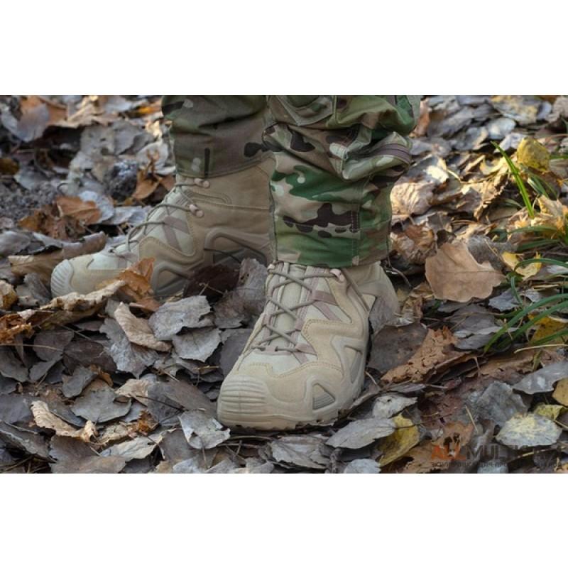 Тактические ботинки Lowa ZEPHYR GTX HI TF RANGER GREEN (фото 2)