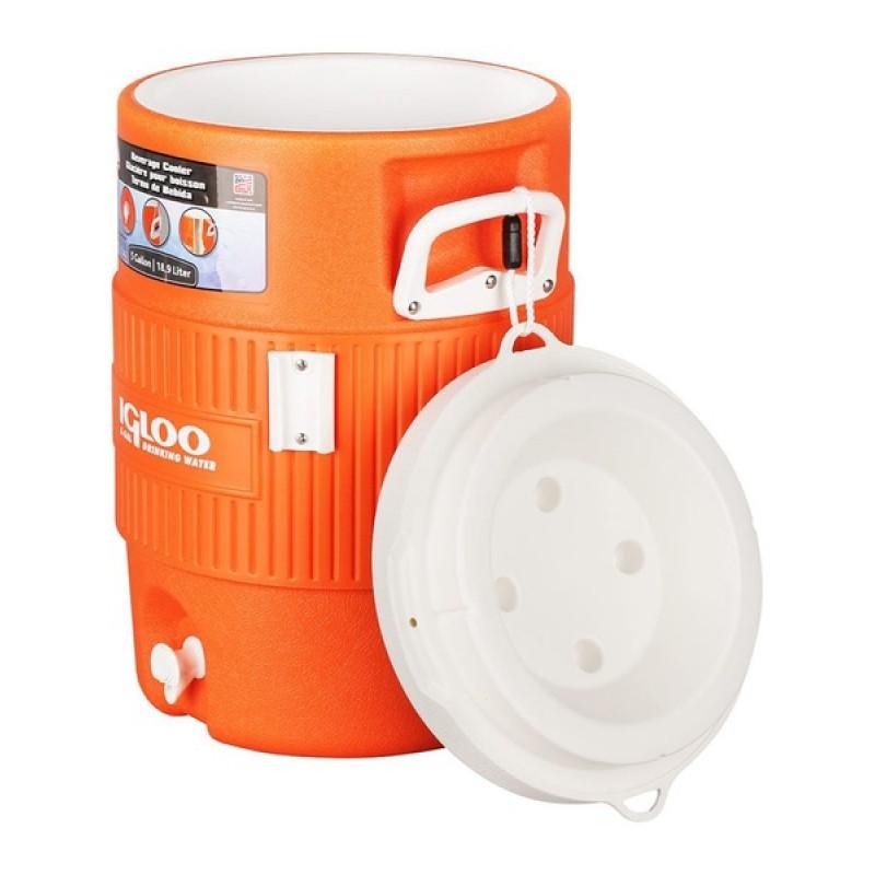 Изотермический контейнер Igloo 10 Gallon Seat Top Orange (фото 2)