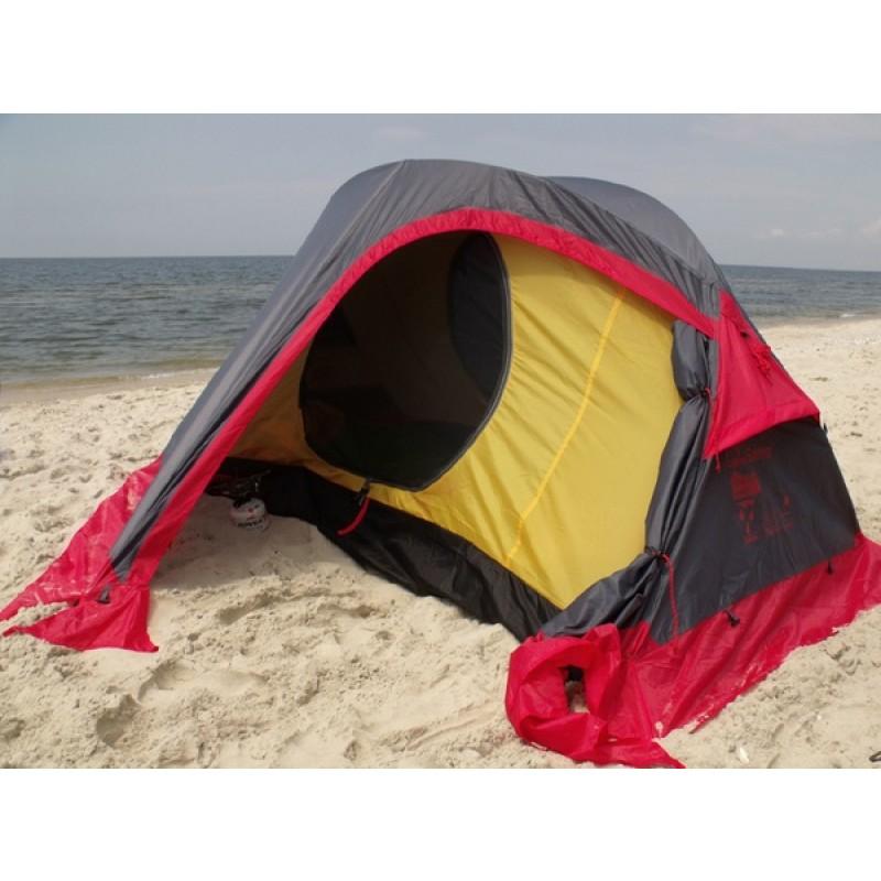 Палатка Tramp Sarma 2 (V2) серая (фото 3)