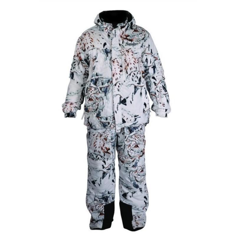 Зимний костюм для охоты и рыбалки Canadian Camper Tracker (snow-leopard)