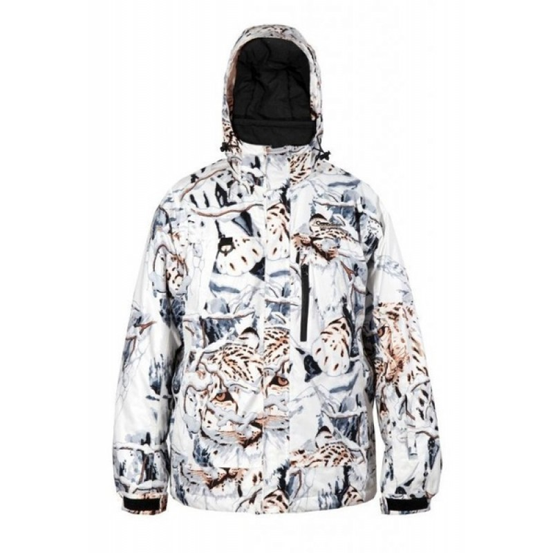 Зимний костюм для охоты и рыбалки Canadian Camper Tracker (snow-leopard) (фото 2)