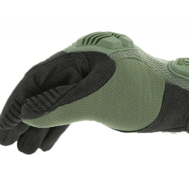 Перчатки WERDUM Mechanix Mpact Glove Green MPT-72 (фото 2)
