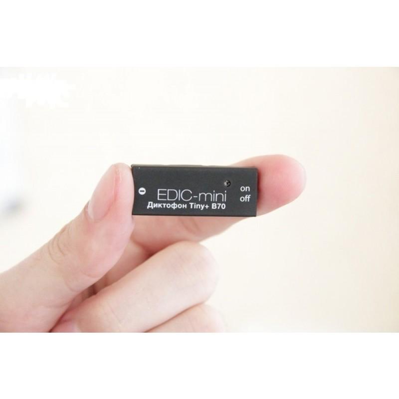 Цифровой диктофон Edic-mini Tiny + B70 (фото 2)