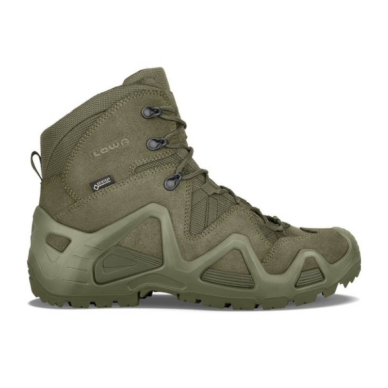 Тактические ботинки Lowa ZEPHYR GTX MID TF Ranger Green