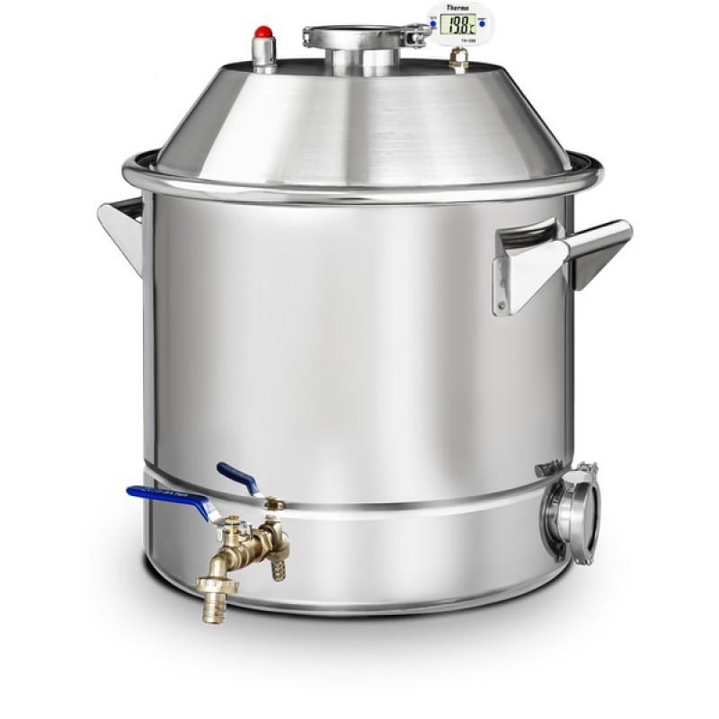 Самогонный аппарат (дистиллятор) Добрый жар ЛЮКС 37 литров (фото 2)