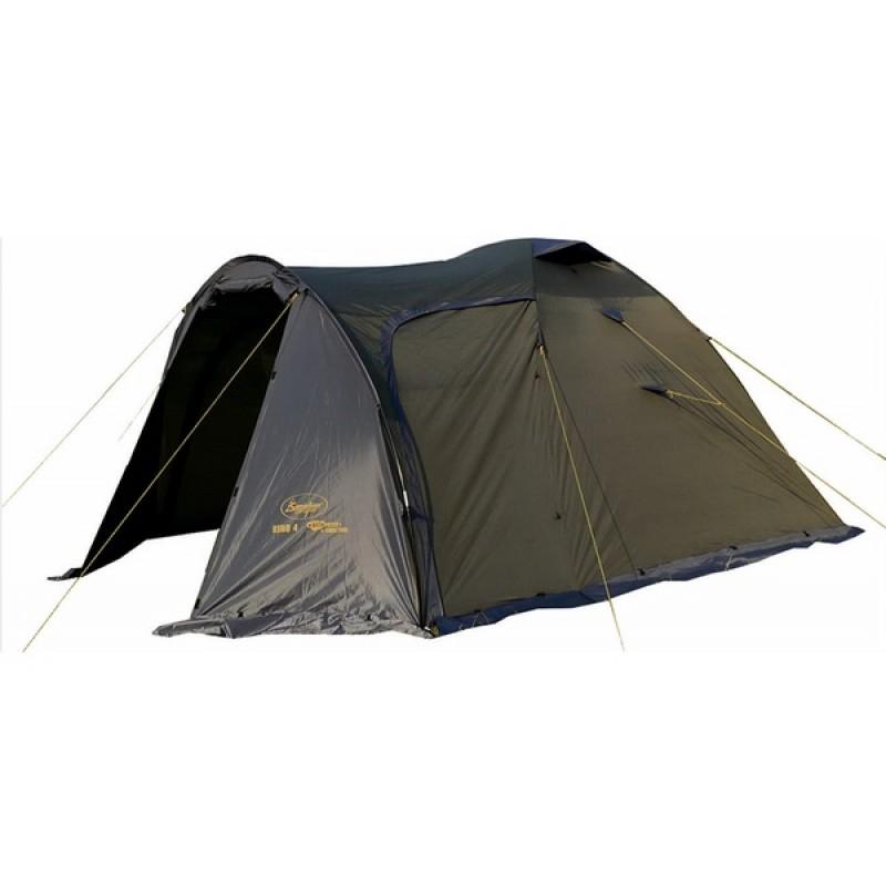 Палатка Canadian Camper RINO 4 (цвет forest  дуги 9,5 мм)