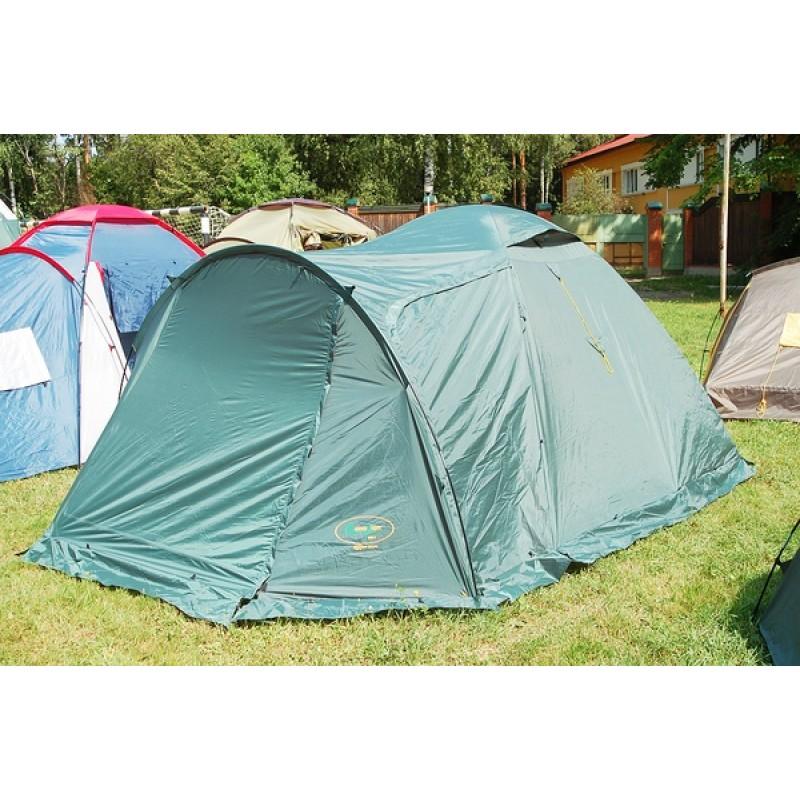 Палатка Canadian Camper RINO 4 (цвет forest  дуги 9,5 мм) (фото 3)