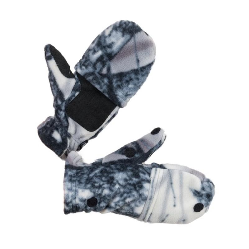 Перчатки Охотника - рыбака (Флис, Зимний лес) Holster (370357505)