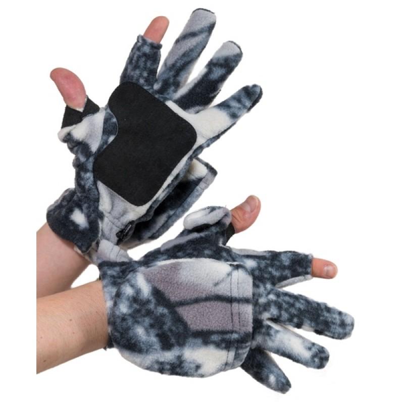 Перчатки Охотника - рыбака (Флис, Зимний лес) Holster (370357505) (фото 2)