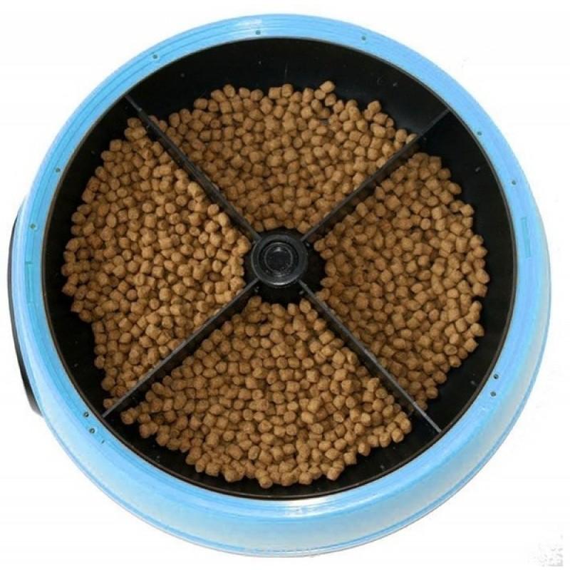 Автокормушка для собак и кошек Feed-Ex PF2B Голубая (55416) (фото 2)