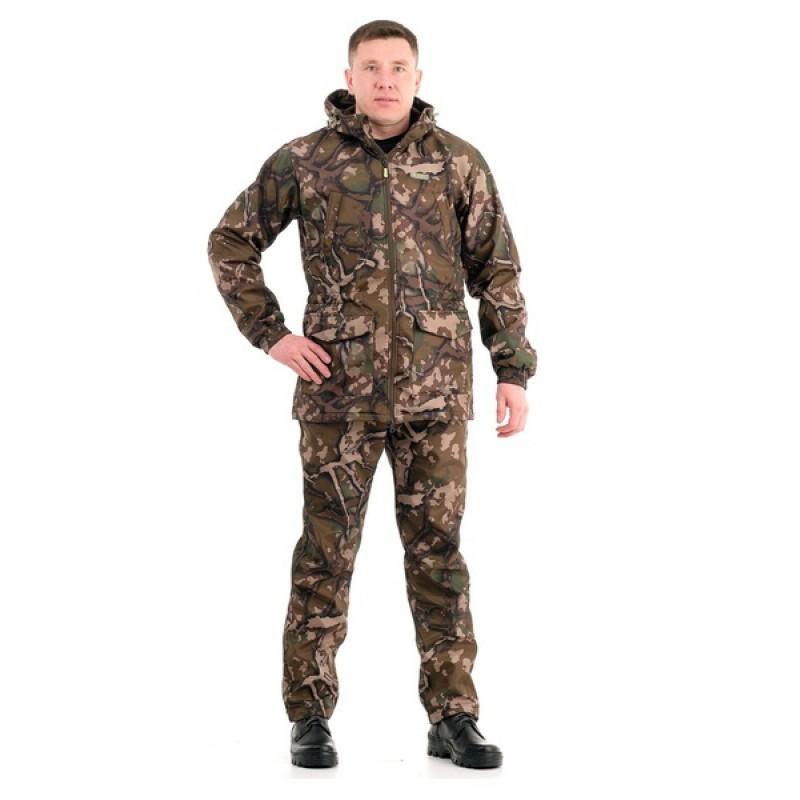 Осенний костюм для рыбалки Свелл (полофлис, каньон) КВЕСТ (подкладка флис)