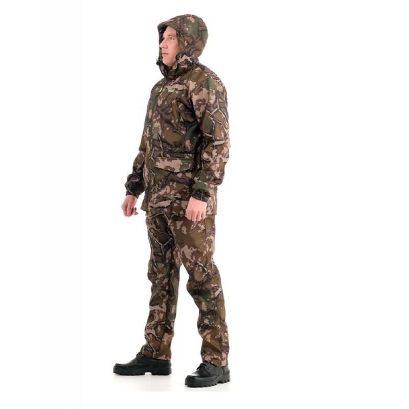 Осенний костюм для рыбалки Свелл (полофлис, каньон) КВЕСТ (подкладка флис) (фото 3)