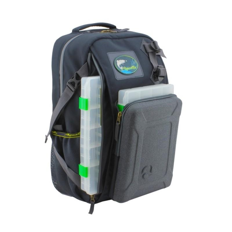 Рюкзак с коробками FisherBox Aquatic РК-02С (рыболовный, хаки)