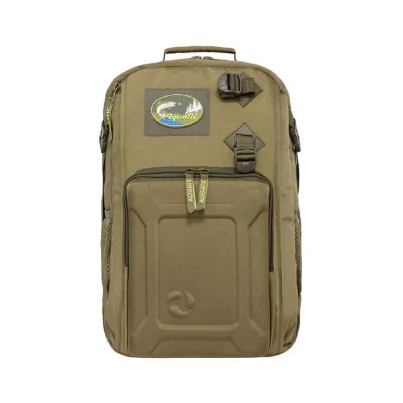 Рюкзак с коробками FisherBox Aquatic РК-02С (рыболовный, хаки) (фото 2)