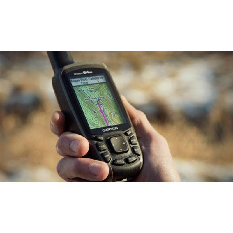 Туристический навигатор GARMIN GPSmap 64SC (фото 3)