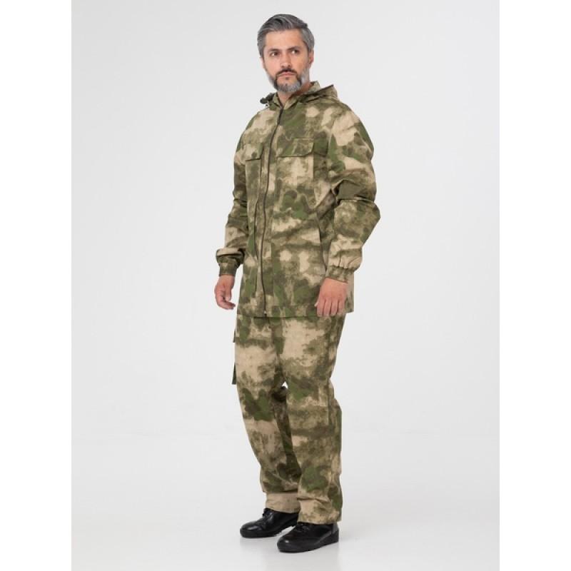 Летний антимоскитный костюм KATRAN ПОЛИГОН (Хлопок, камуфляж) (фото 3)